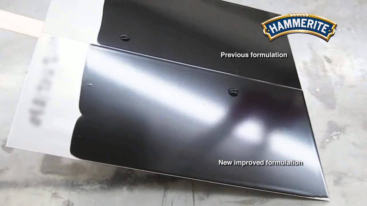Hammerite  Metal Paint Satin Black