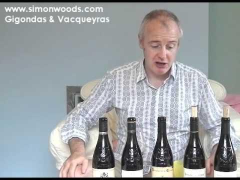 Simon Woods Wine Videos: Southern Rhone - Gigondas & Vacqueyras - click image for video
