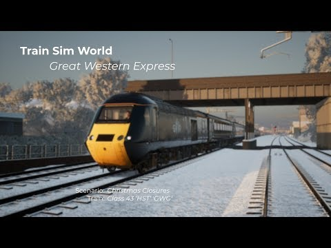 Train Sim World: Great Western Express - Christmas Closures