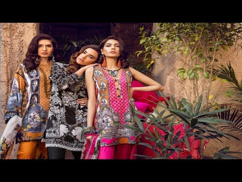 Latest Ethnic By Outfitters Unstitched Vol 1 2018 Collection