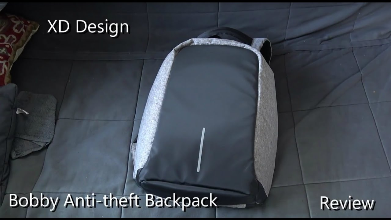 fb77f7ca12 Bobby Anti-theft Backpack by XD Design - real world review after 2 months