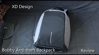 Bobby Anti-theft Backpack by XD Design - real world review aft…