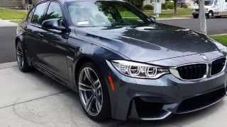 2015 BMW (F80) M3 Mineral Grey Metallic