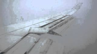 Landing on snow storm at Toronto with B747 from Frankfurt