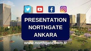 northgate ankara presentation of the megaproject in turkey near airport arabic german subtitle