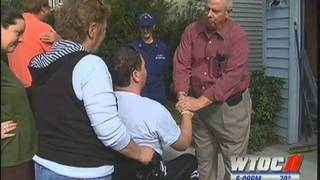 Navy League Helps Injured Coast Guardsman Come Home