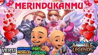 Gambar cover Merindukanmu - Mobile Legends Versi Upin Ipin