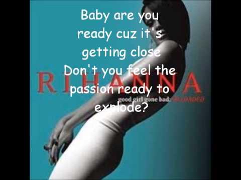 Rihanna-Don't Stop the Music-lyrics