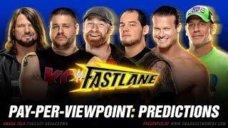 WWE FASTLANE 2018 PPV Event Match Card and Predictions Rundown