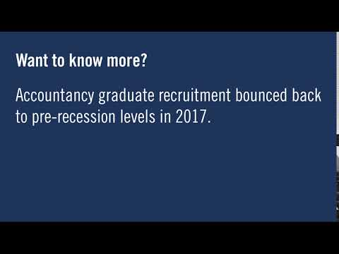 Good news for Accountancy Grads