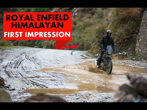 Royal Enfield Himalayan : First Ride : PowerDrift