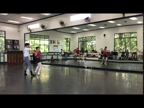Russian choreographer George Birkadze creates a tango on pointes for Ballet Manila