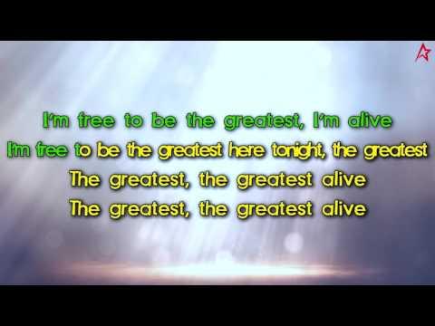 Sia - The Greatest (Karaoke / Instrumental / Lyrics)