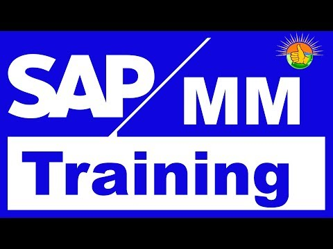 SAP MM Tutorial for beginners   SAP MM Training Videos 1
