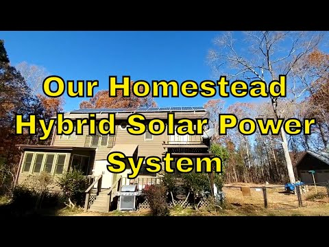 Our Homestead Hybrid Solar Power System: Is It Worth It?