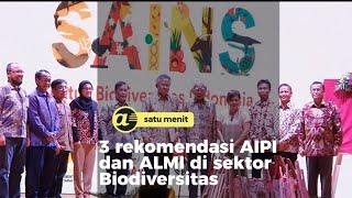 3 rekomendasi AIPI dan ALMI di sektor Biodiversitas