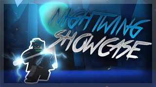 NIGHTWING SHOWCASE! | SUPER HERO ADVENTURES ONLINE | ROBLOX