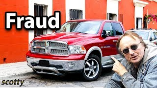 The Truth About Fiat Chrysler Being Sued for Fraud