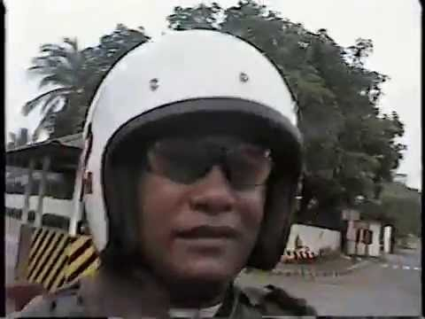 MOTORCYCLE RIDING COURSE CLASS 2004-A Part 2 @ Camp Crame