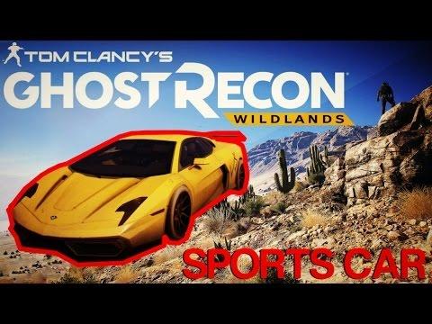 Super Car Ghost Recon Wildlands Youtube