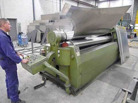 Used Stolting SRA 2500 x 14/9   year 1992  plate bender