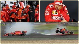 Жуткий провал Феттеля, Квят и Гасли снова на коне (Гран-При Великобритании 2019 Формула-1)