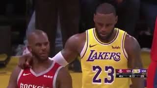 LAKERS VS ROCKETS FIGHT FULL VIDEO! RONDO, INGRAM, CP3 EJECTED! ALL ANGLES