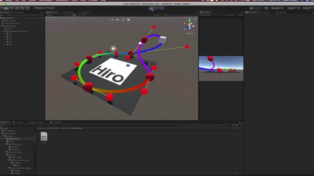 AR js with Unity: Upcoming Animation Update