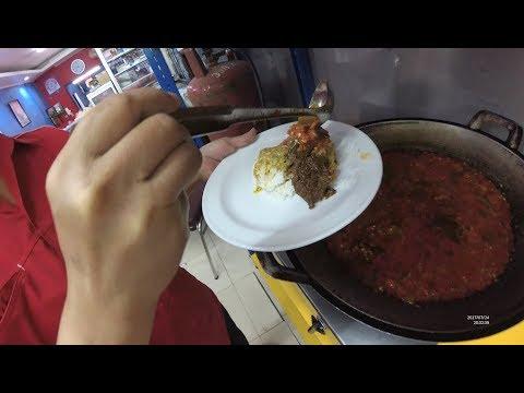 Indonesia Makassar Street Food 2165 Part.1 Padang Food RM 17 Propinsi Datu Museng YDXJ0424