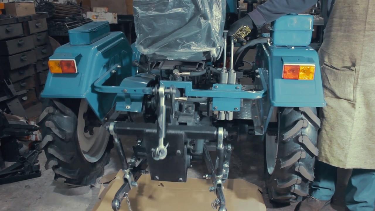 Адаптер трехточечный к минитрактору СКАУТ T-25