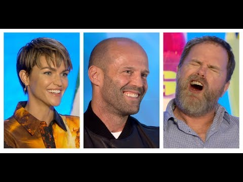 THE MEG Interviews: Jason Statham, Ruby Rose, Rainn Wilson and Jon Turteltaub Mp3