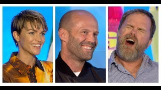 THE MEG Interviews: Jason Statham, Ruby Rose, Rainn Wilson And Jon Turteltaub