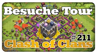 Besuche Tour! - Clash of Clans #211 [Deutsch/German]