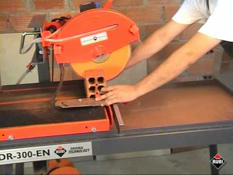 RUBI DR-300-EN Cortadora eléctrica para marmol ladrillo / Electric Saw for marble brick