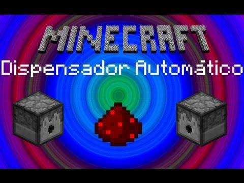 Cómo Hacer Un Dispensador Automático - Minecraft (Español)