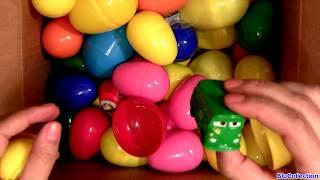 70 Surprise Eggs Angry Birds Kinder Disney Pixar Cars Despicable Me Marvel Spiderman Huevos