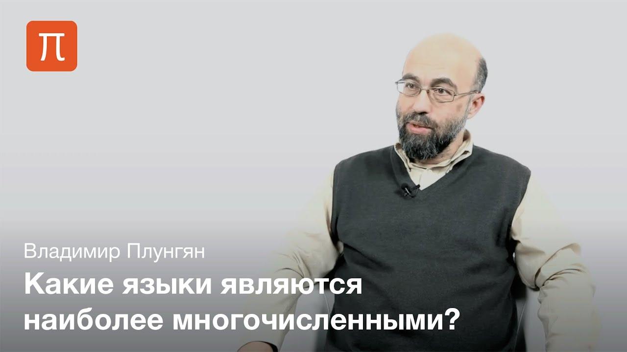 Владимир Плунгян - Языки на карте мира