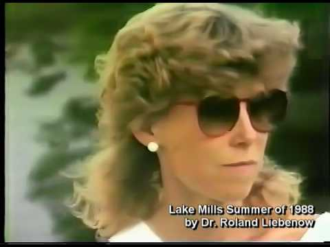 Lake Mills The Summer of 1988 by Dr. Roland Liebenow