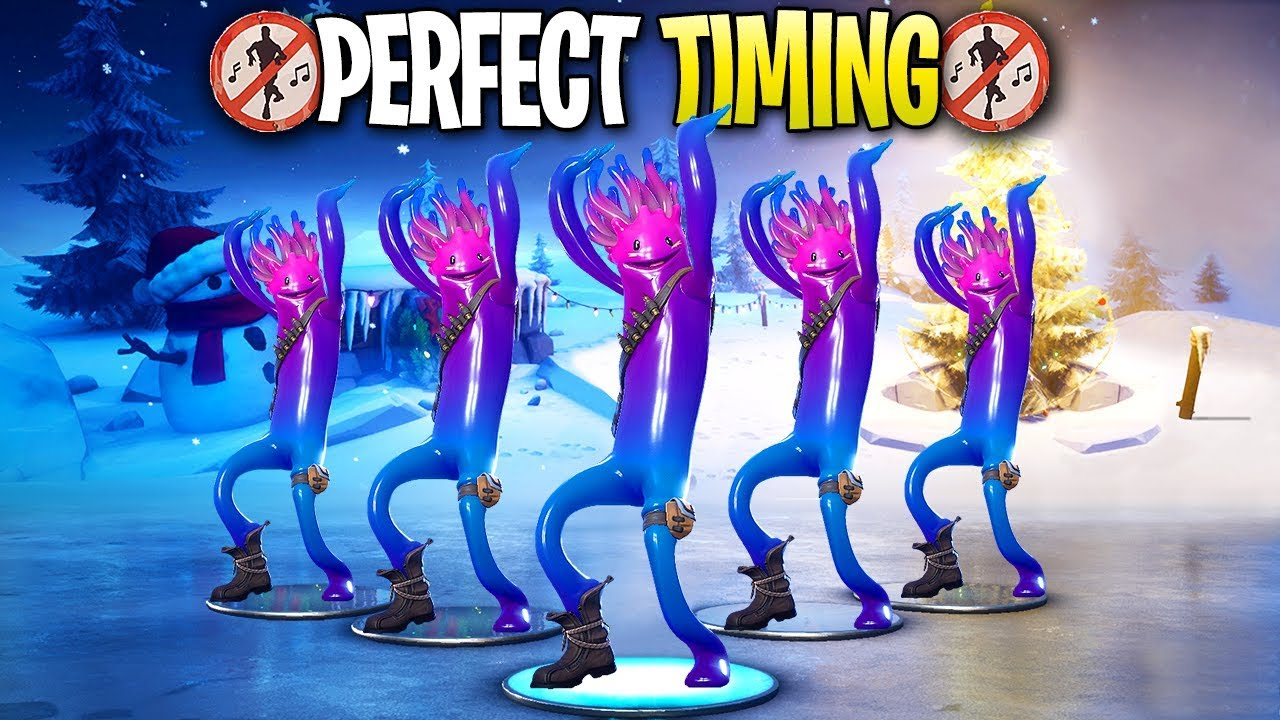 Fortnite Perfect Timing Moments 73 Chapter 2 Youtube