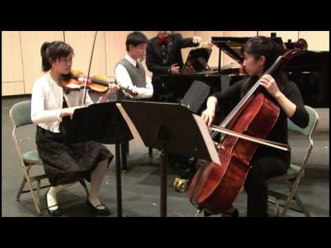 USOMC 2008 Chamber Ensemble Winner Francesca & Ariana Fong, Yang Lu