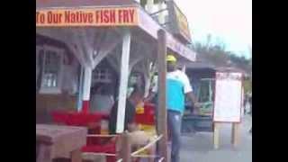 Nassau Bahamas Fish Fry Part I