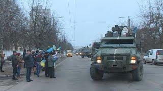 Близько сотні бійців 13-го батальйону 95-ї ОАМБр повернулись до Житомира - Житомир.info