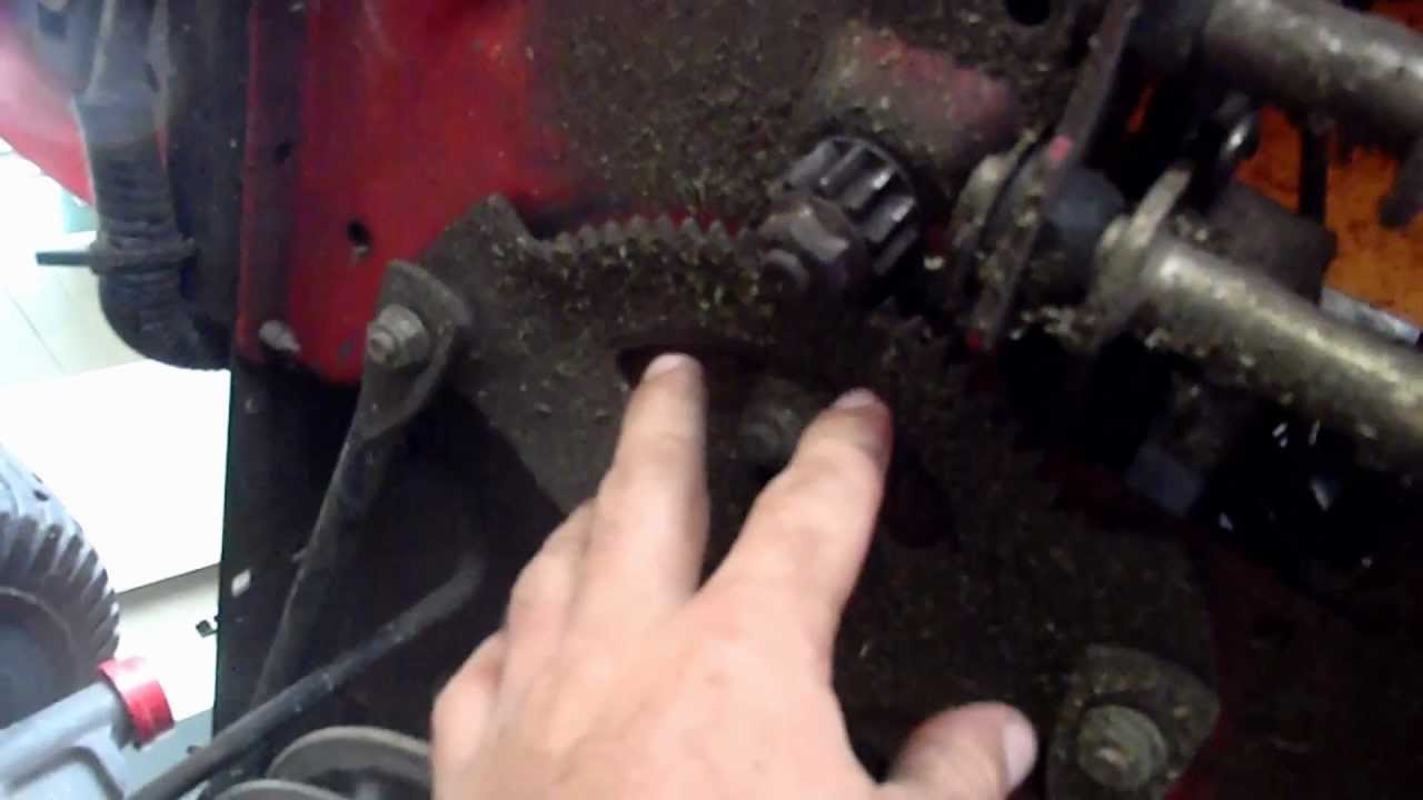 Troy Bilt Steering Fix Slipping How To It Youtube Horse Lawn Tractor Wiring Diagram