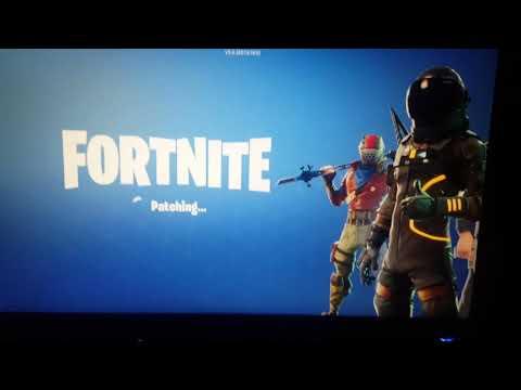 Fortnite Patching Screen Glitch