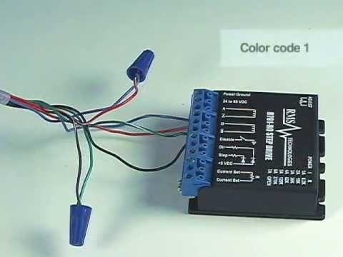 how to properly connect a stepper motor to unipolar or bipolar rh youtube com