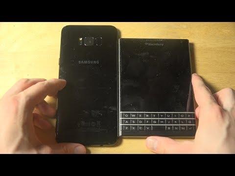 Samsung Galaxy S8 Plus vs. BlackBerry Passport - Which Is Faster?