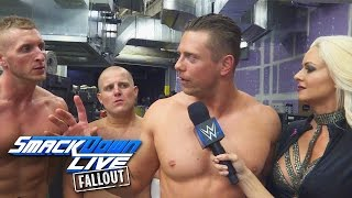 The Miz weist die Spirit Squad in ihre Schranken: SmackDown LIVE Fallout, 18. Oktober 2016