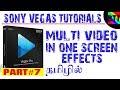 MULTI VIDEO IN ONE SCREEN IN TAMIL [SONY VEGAS#7] - BEST TAMIL TUTORIALS