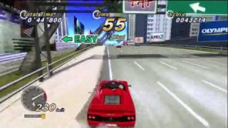 Outrun Online Arcade (XBLA) - Demo Gameplay (HD)