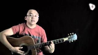Bài 4: Làm quen với dây đàn - học guitar căn bản  cho người mới bắt đầu